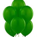 Зеленые праздничные воздушные шары