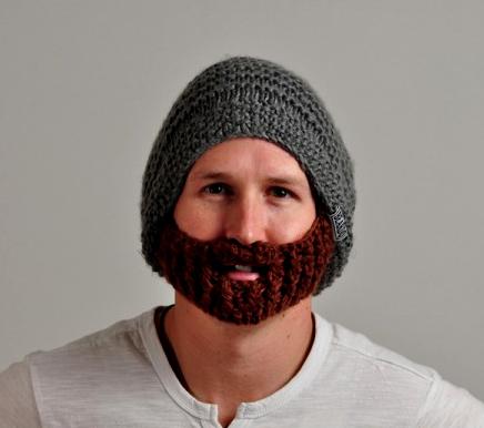 Шапка-бородач