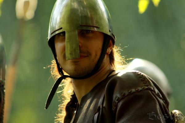 Воин раннего средневековья