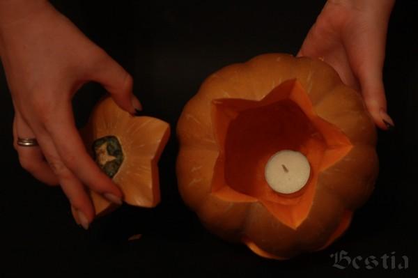 Свеча в тыкве