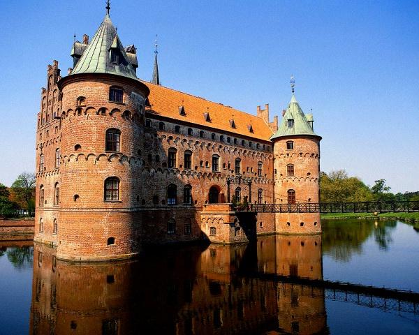 Крепость Свендборг в Дании