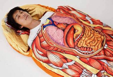 Оригинальный спальный мешок