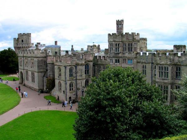 Замок Варвик в Великобритании