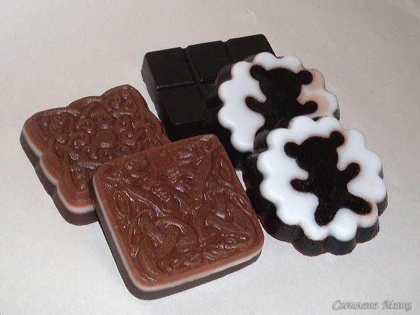 Мыло «Шоколад и корица»