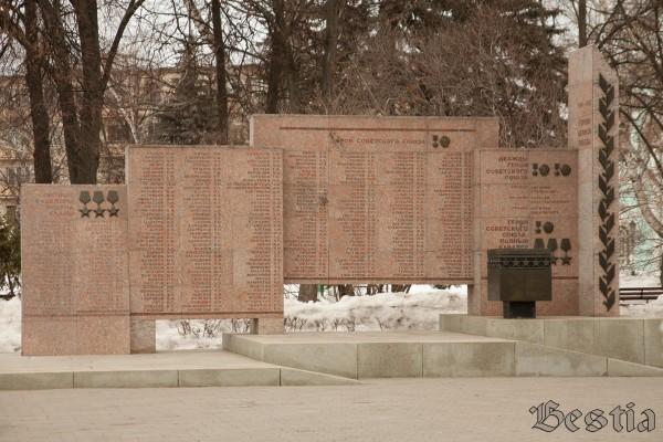 Памятник героям великой победы