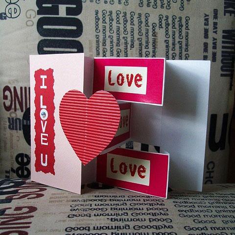 Открытка I Love You