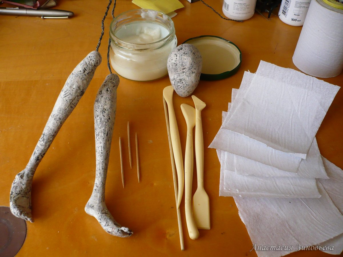 Сделать каркасной куклы своими руками