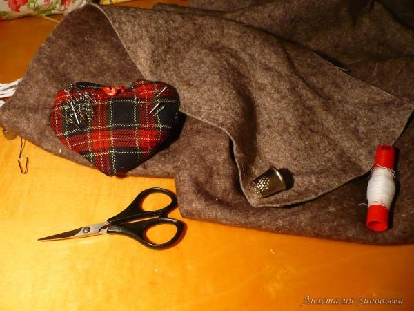 Материал для обшивки наполнителя