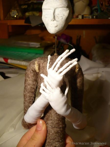 Ткань кожи на руках