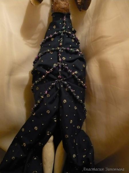 Нашивание платья