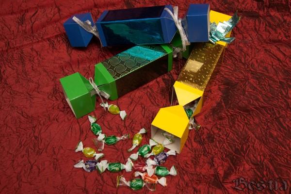Бумага в коробке от конфет своими руками 477