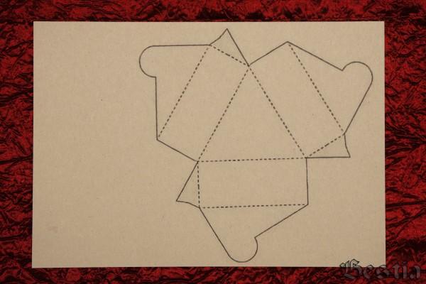 Как сделать маленькую коробку из картона своими руками
