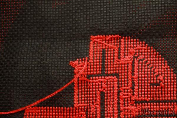 Изнанка вышивки