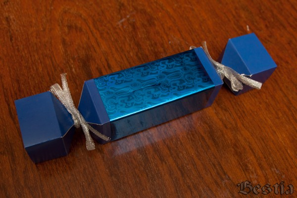 Готовая упаковка-конфета