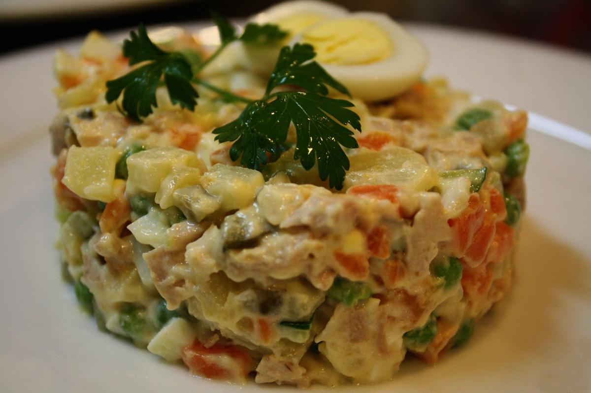 рецепты очень вкусных салатов на праздники
