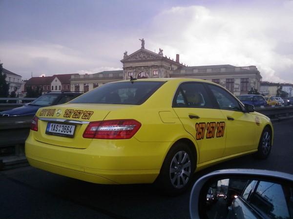 Чешское такси