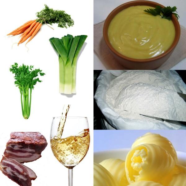 Солонина с винным соусом