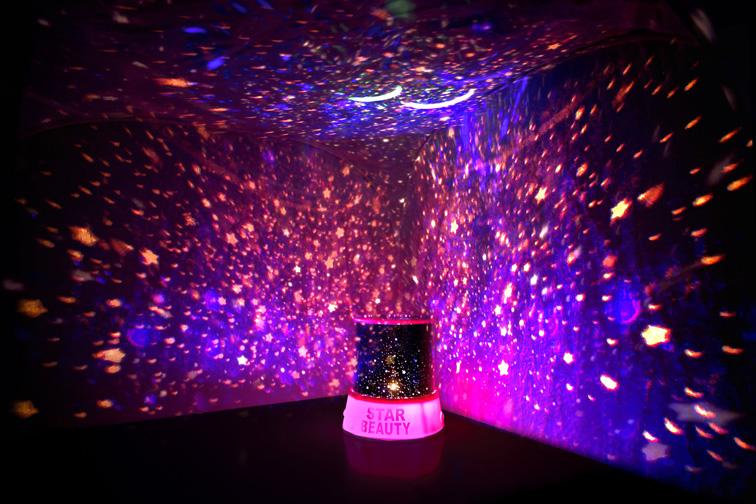 Необычное освещение в домашнем