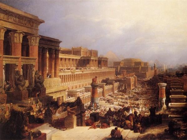Израильтяне покидают Египет