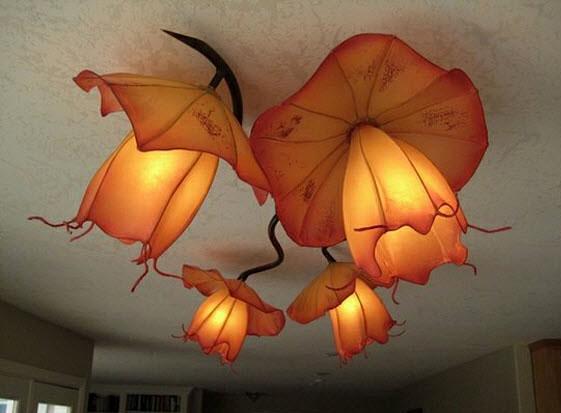 Светильник-цветы