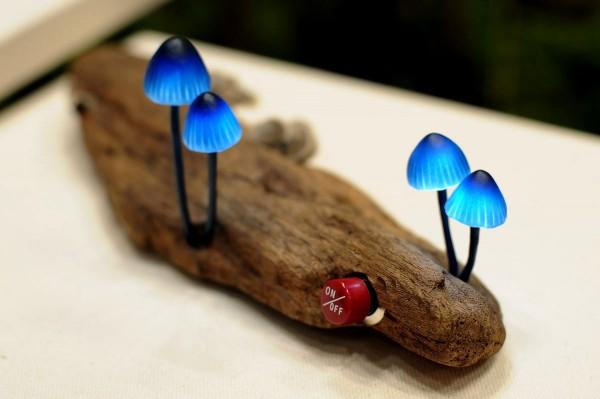 Светильник-грибы