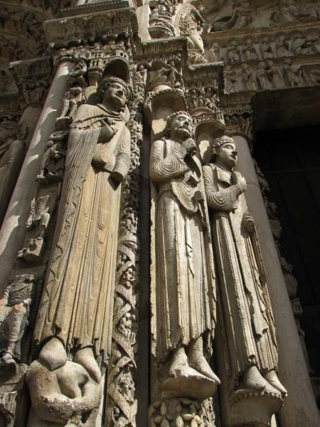 Персонажи Ветхого завета. Скульптура в соборе Шартра