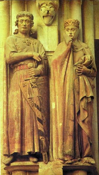 Скульптура из собора в Наумбурге