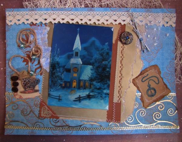 Открытка Зимняя сказка