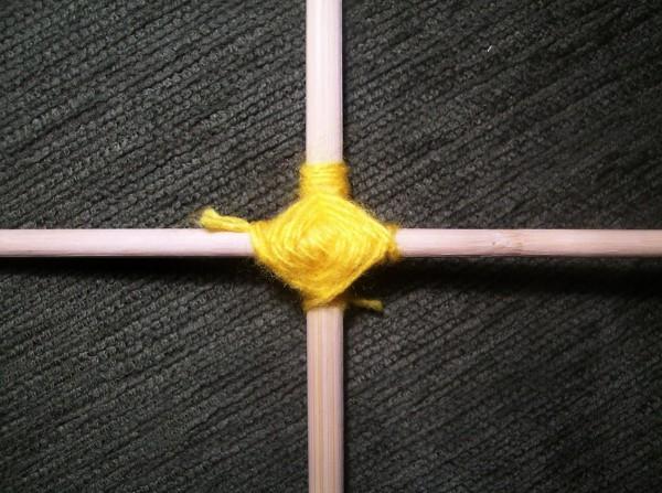 Плетение квадрата