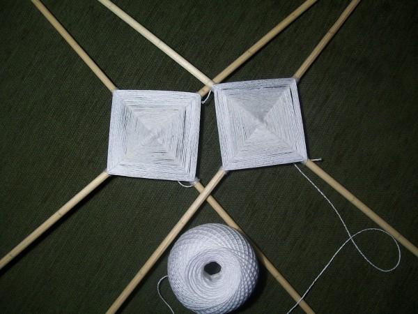 Два белых квадрата