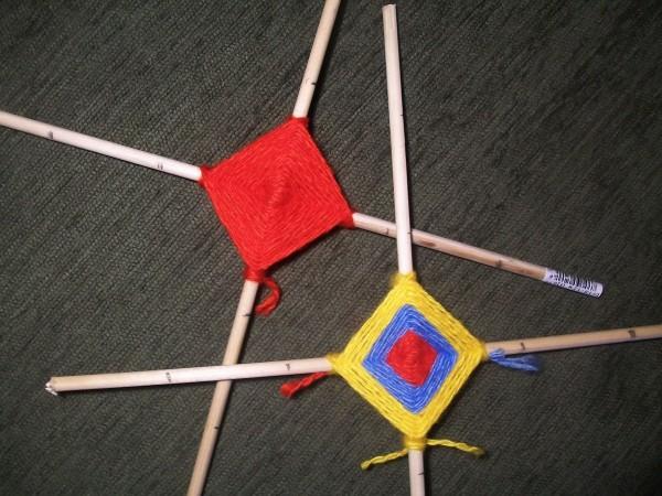 Получившиеся квадраты