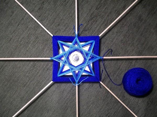 Плетение 10 рядов