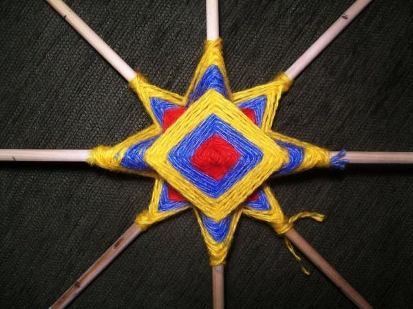 Плетение Солнышка