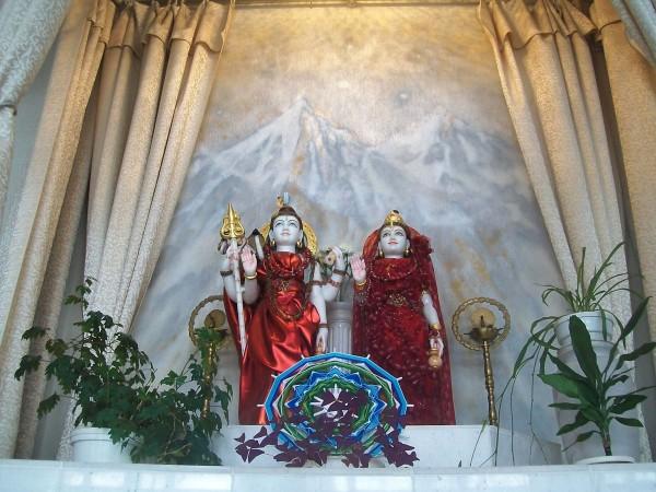 Мандала в храме