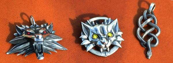 Ведьмачьи медальоны