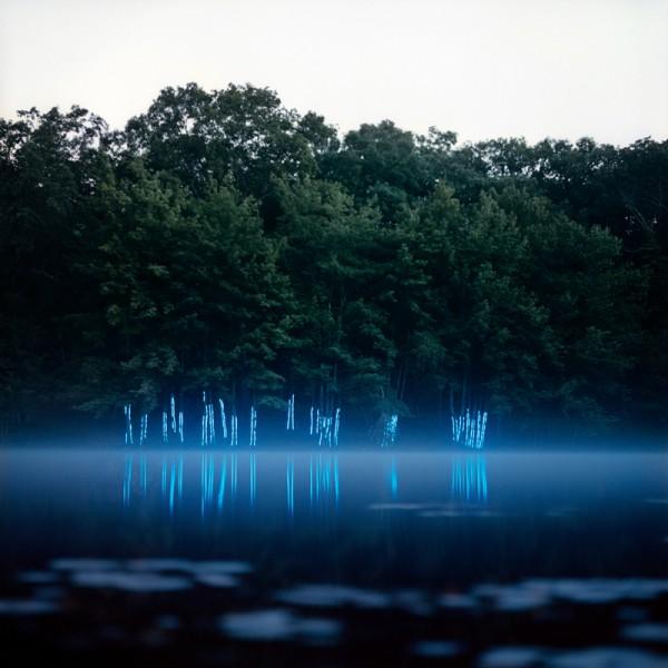 Пейзаж со светодиодами