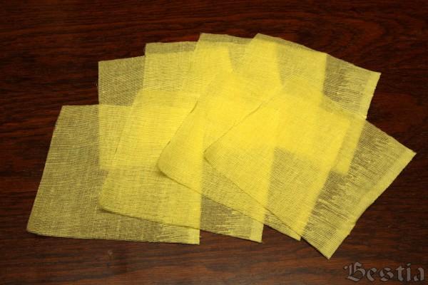 Желтые лоскуты