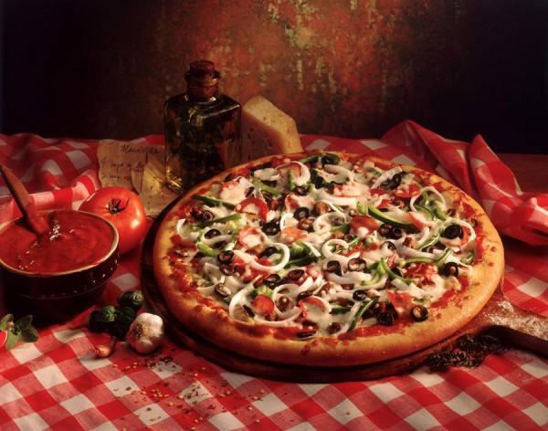 Луковая пицца
