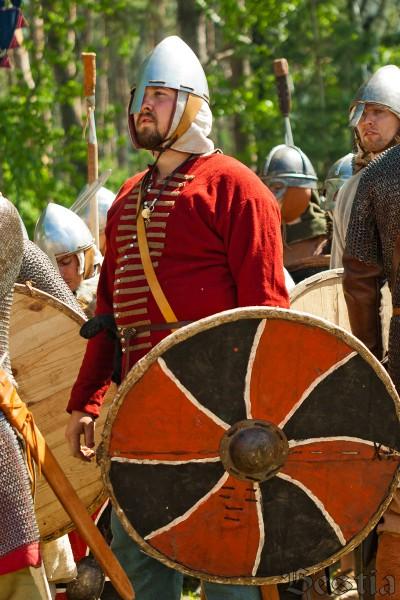 Воин средневековья