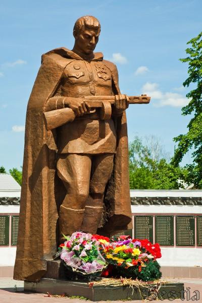 Памятник воину ВОВ