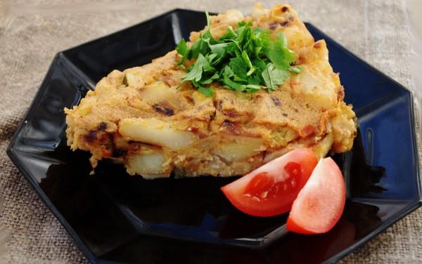 Картофельная тортилья «Ла манча»
