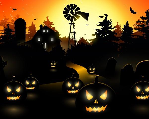 Хэллоуинский фонарь, или резьба по тыкве