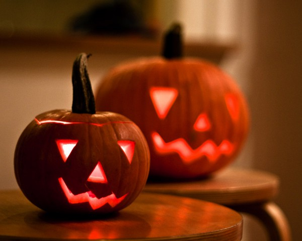 Фонари на Хэллоуин