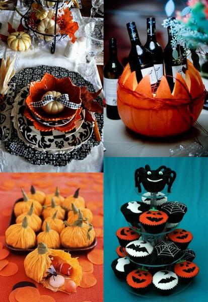 Декорирование блюд на Хэллоуин