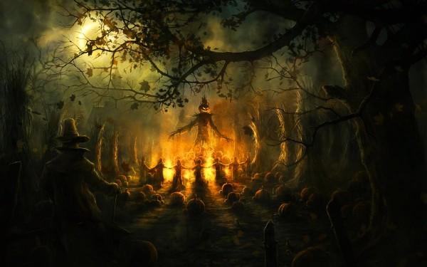 Кельтский праздник Хэллоуин