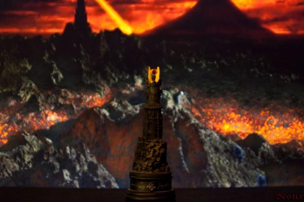 Барад-дур, Черная ладья