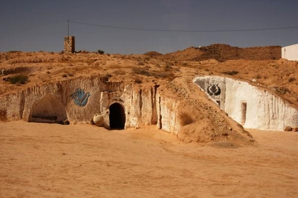 Жилища пустынных жителей