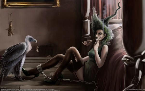 Ведьма с мундштуком