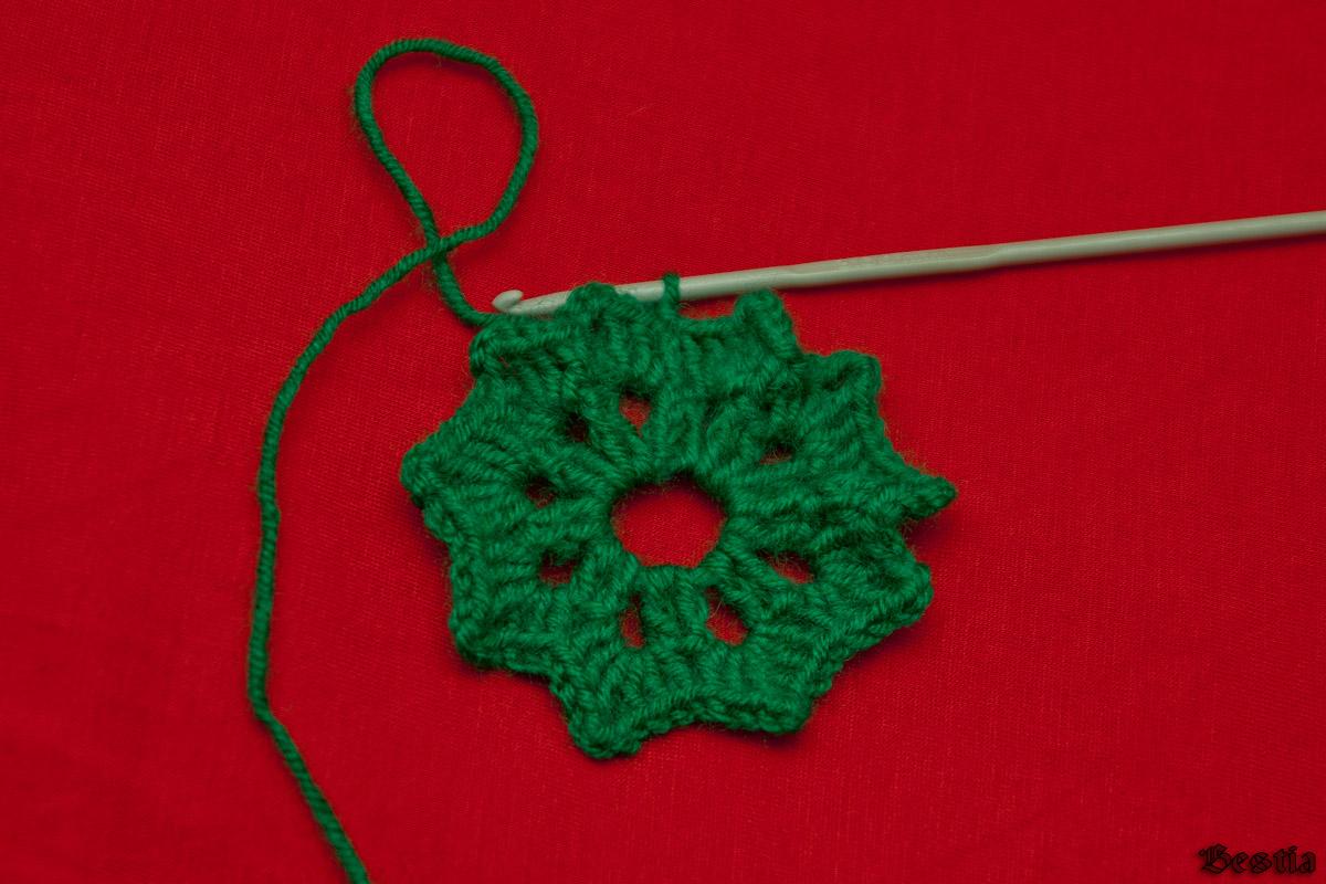 Вязание листиков крючком мастер класс