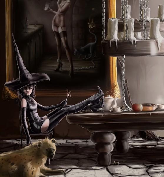 Ведьма и гиена